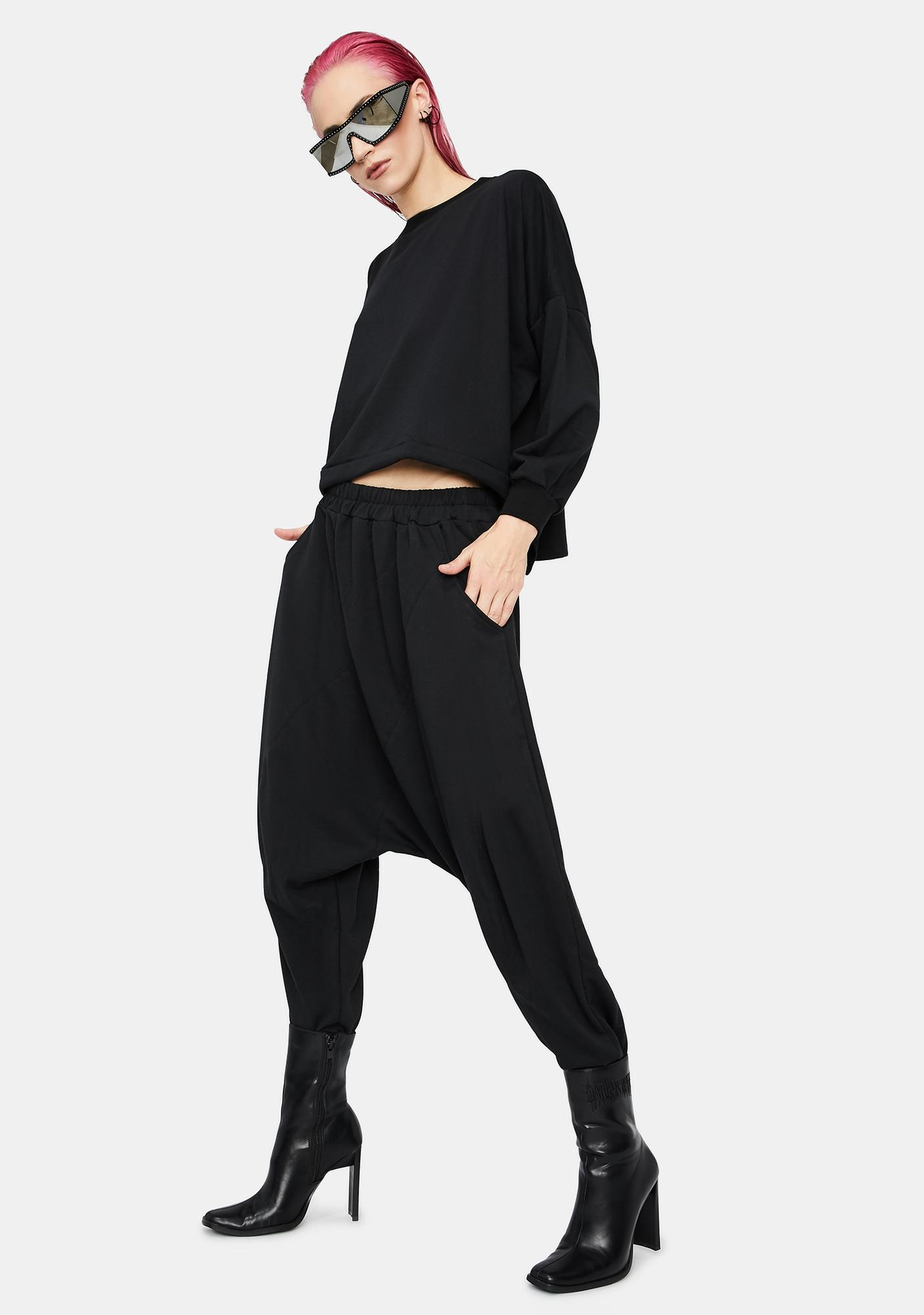 MNML Darkest Soul Drop Crotch Sweatpants