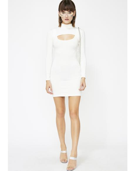 Icy Dangerous Damsel Bodycon Dress