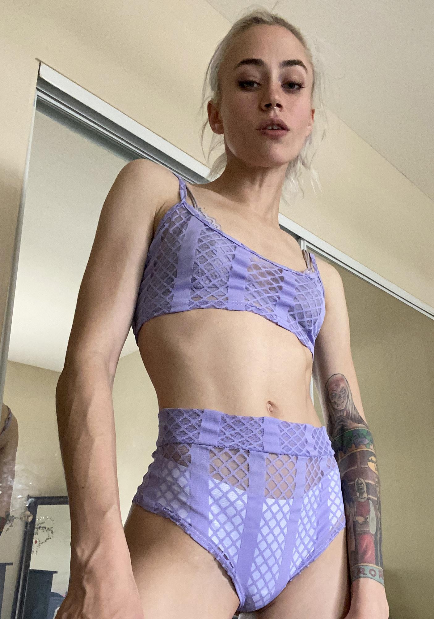 Temptation Trap Booty Shorts Set