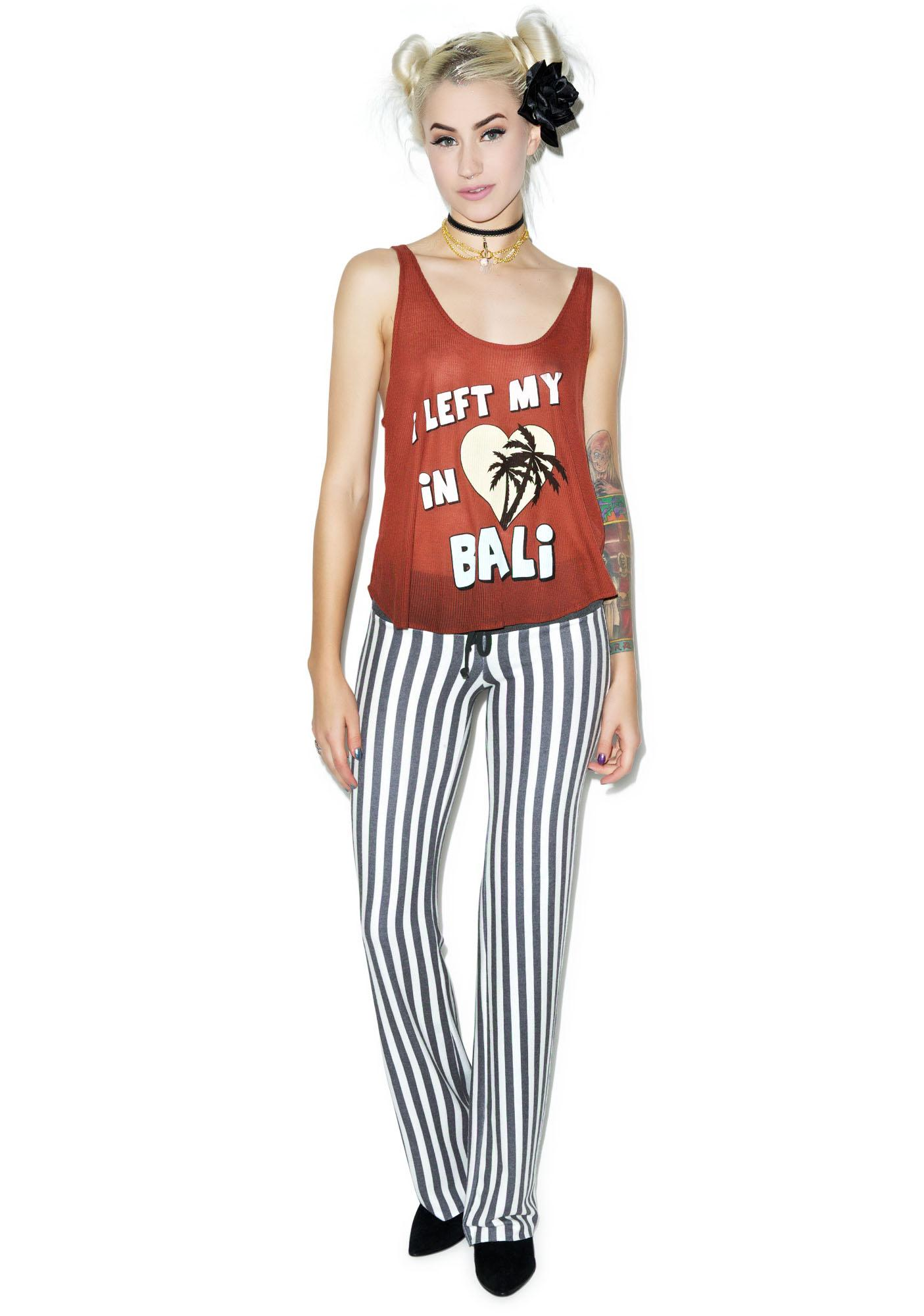 Wildfox Couture I Left My Heart in Bali Hiker Tank