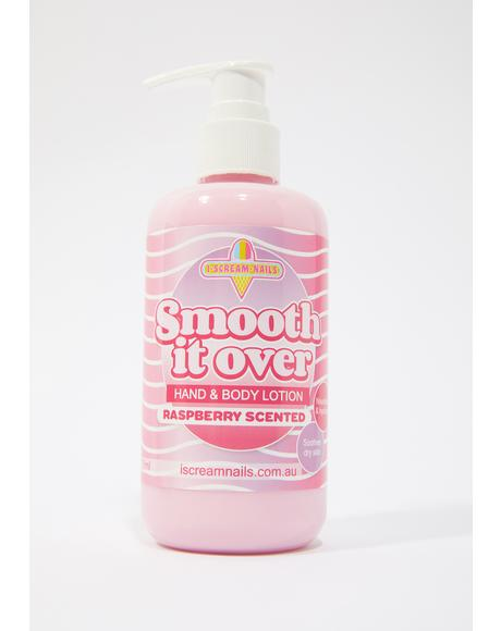 Raspberry Smooth It Over Hand & Body Lotion