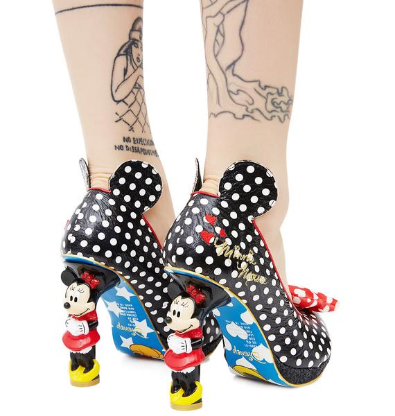 Irregular Choice Oh My Minnie Mouse Platform Heels
