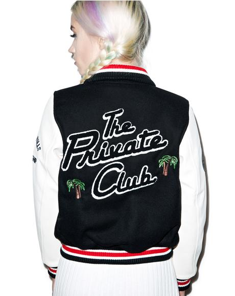 The Private Club Varsity Jacket