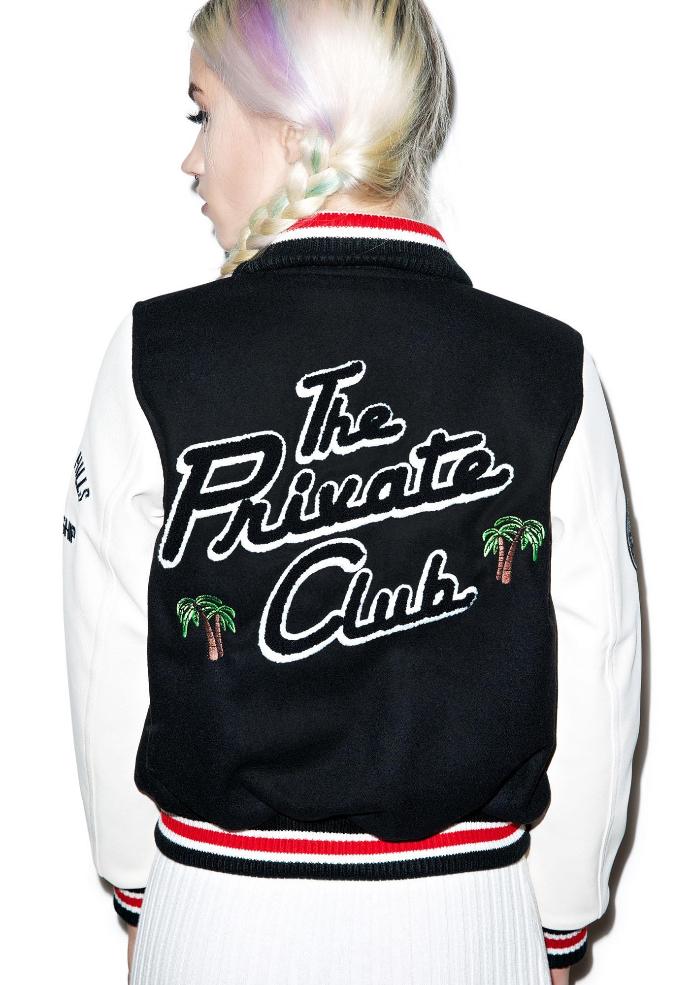 Joyrich The Private Club Varsity Jacket
