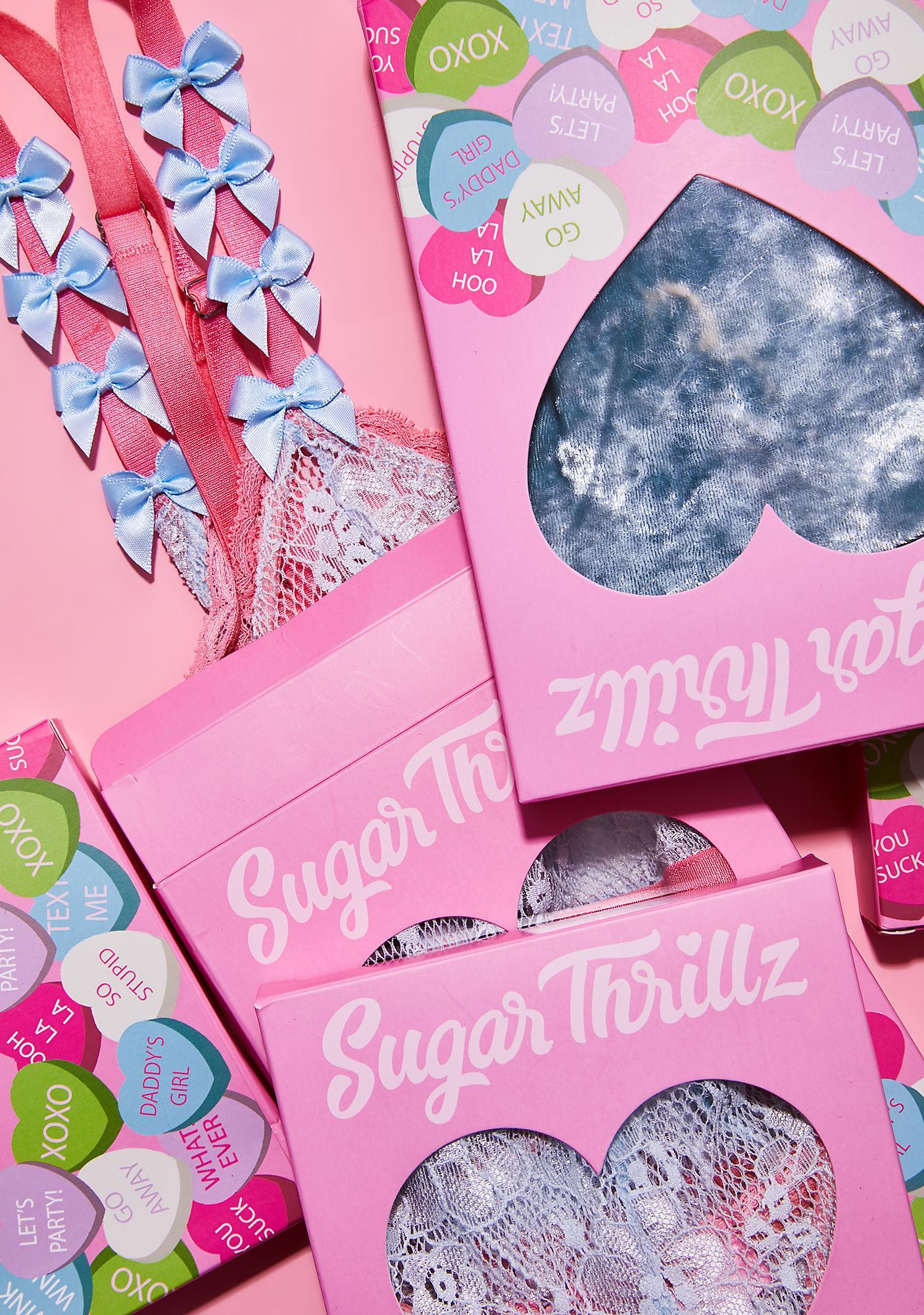 Sugar Thrillz Buy Me Roses Bralette