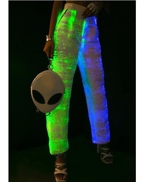 Fiber Optic Light Up Pants