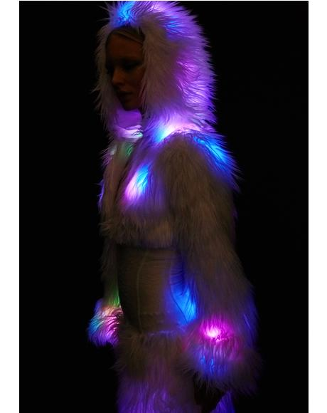 Flashing Lights Cincher Coat
