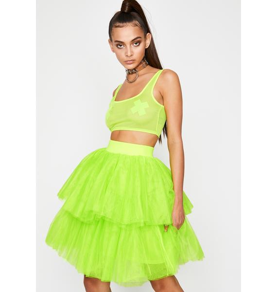 Atomic Princess Vibes Tulle Skirt