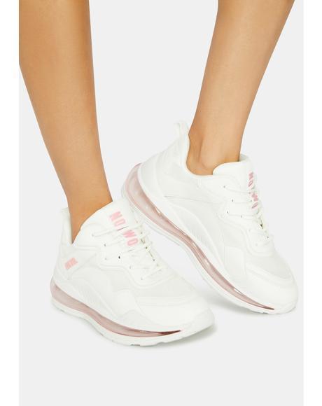 Pink Active Sneakers