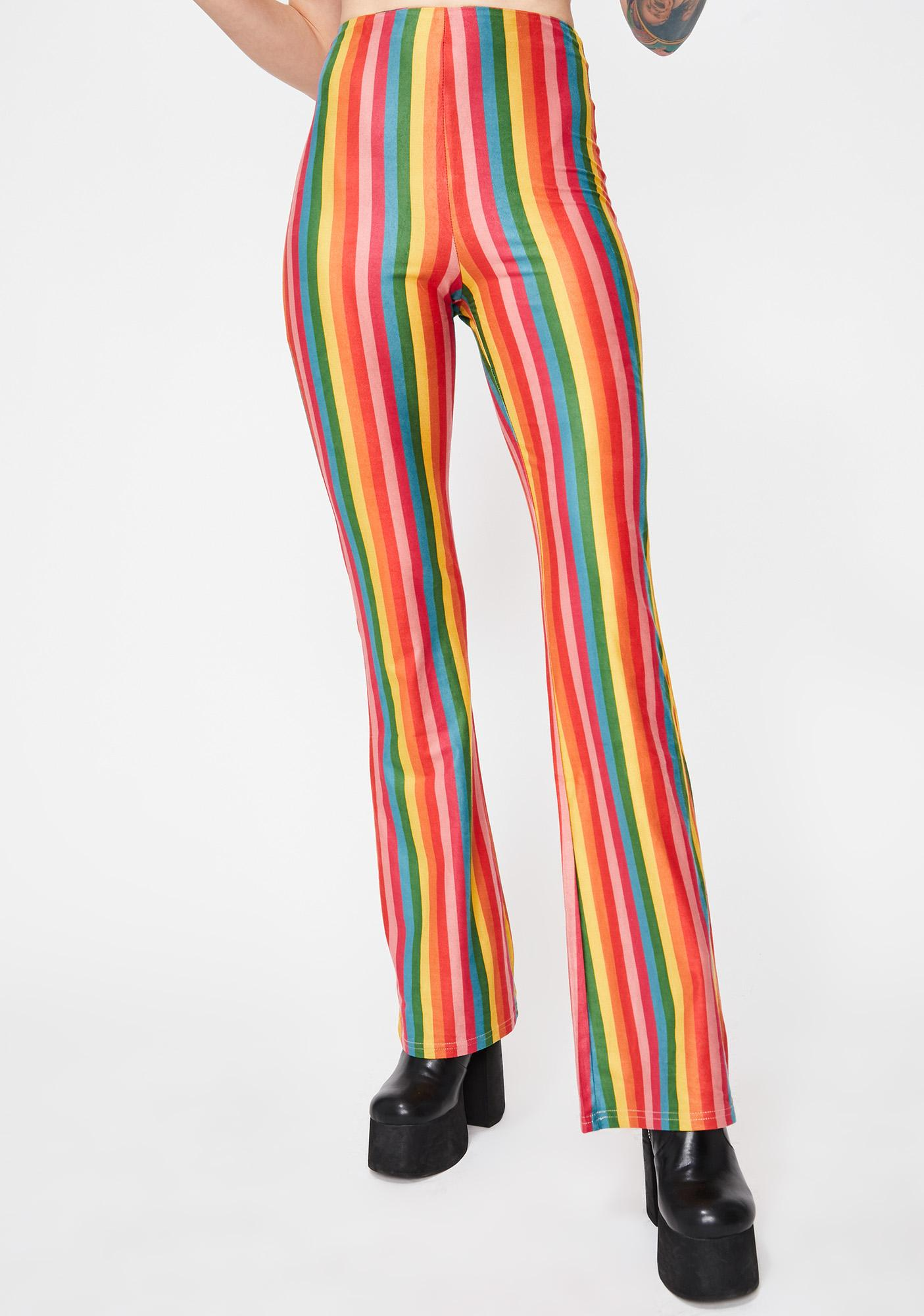 Kush Down The Line Striped Pants