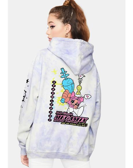Megamix Tie Dye Hoodie