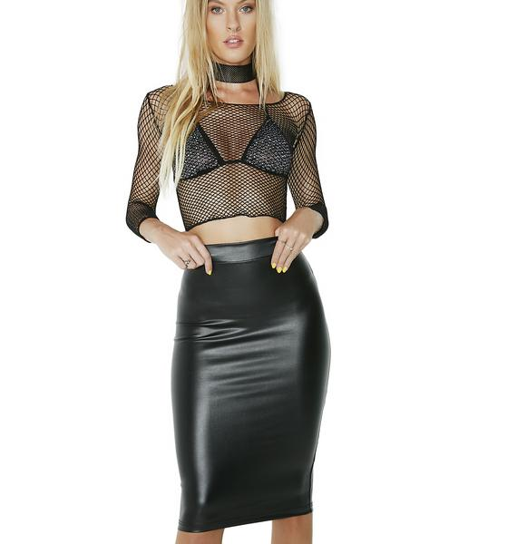 Want Some More Midi Skirt