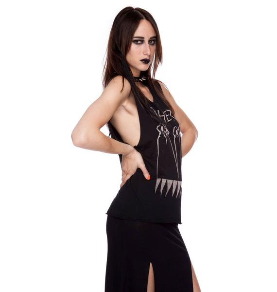 Blood Is The New Black Witchery Tank