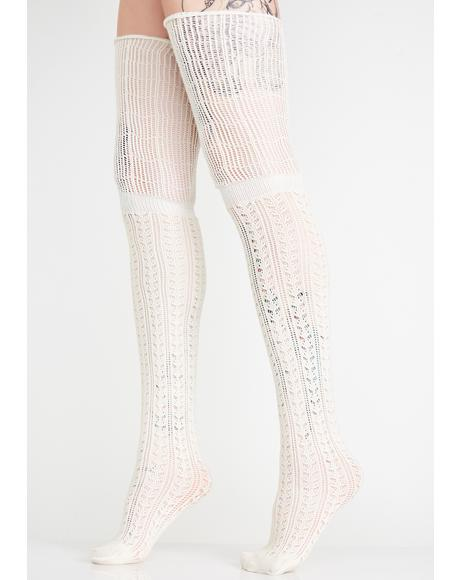 Innocent BB Doll Thigh High Socks