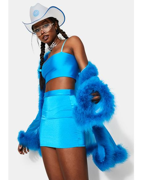Icy Heaux Skirt Set