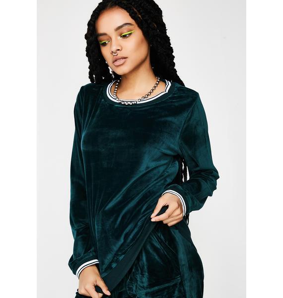 Emerald Triangle Pullover