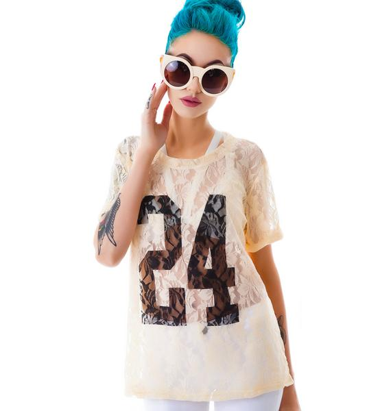 Malone 24 Lace Top