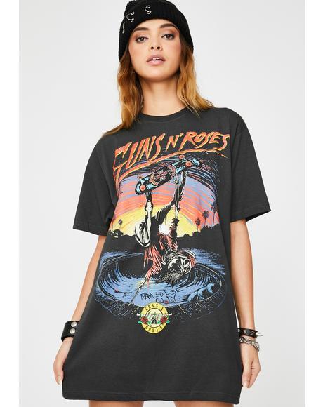 Guns N Roses Skate Tee