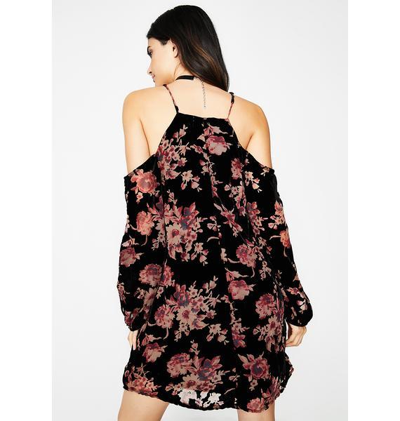 Flower Shower Mini Dress