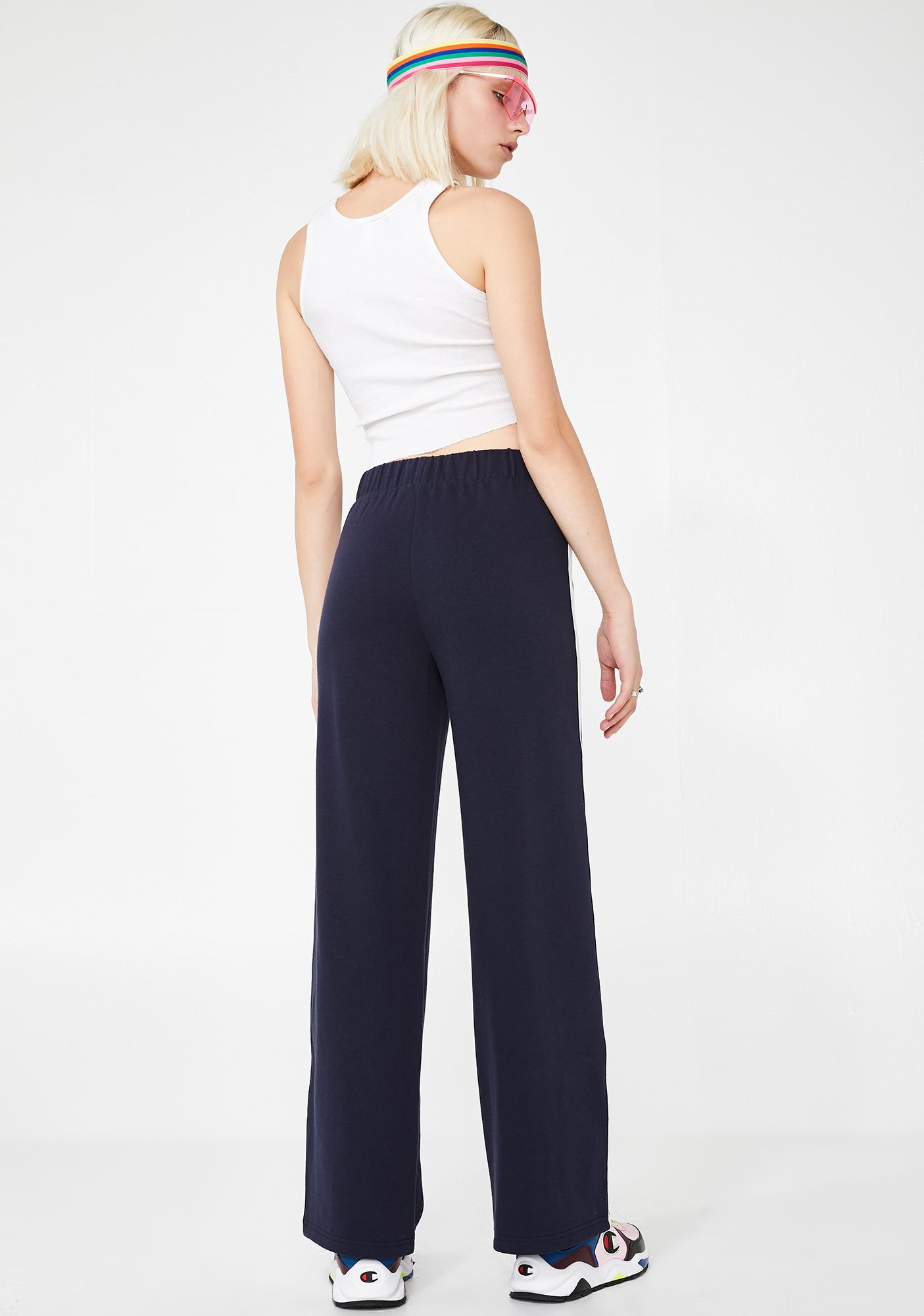 JUICY COUTURE Wide Leg Track Pants
