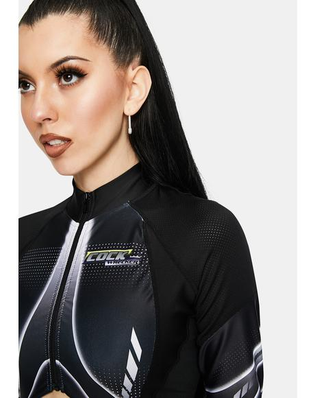 Speed Racer Long Sleeve Bodysuit