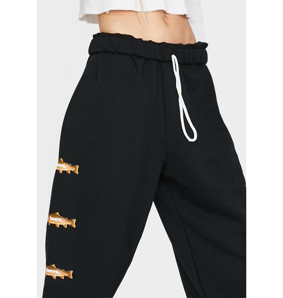 Beers Trout Jogger Sweatpants