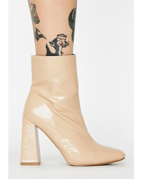 Rude Attitude Ankle Boots