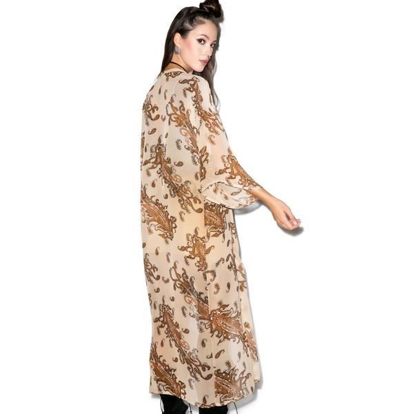 Glamorous Watch The Throne Kimono