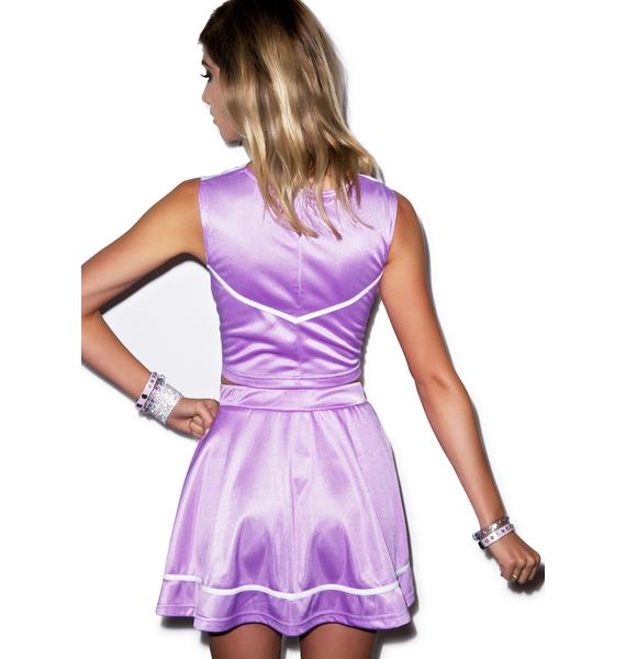 Send Me An Angel Cheerleader Skirt Set