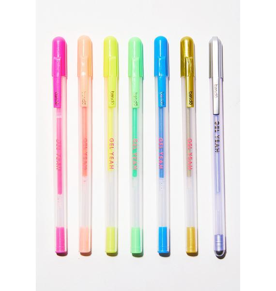 Neon Jelly Pens