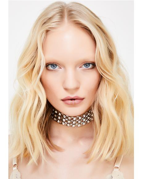 Cry Baby Studded Choker