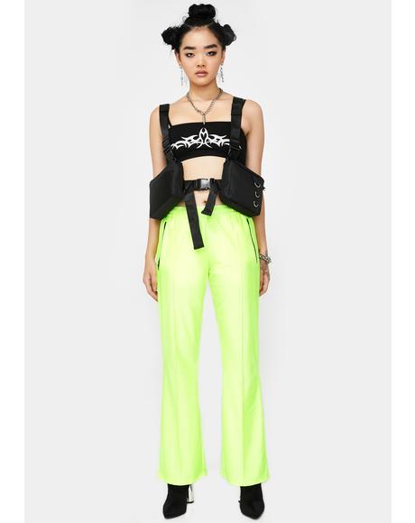 Reflective Neon Sport Pants