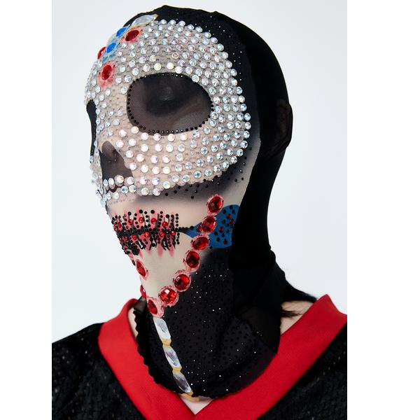 Kiki Riki So Flashy Skull Mask