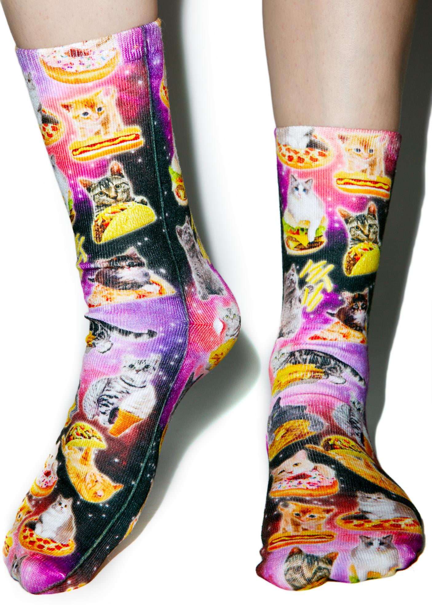 Kittens & Munchies Socks