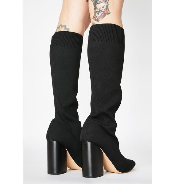 Public Desire Blaire Knee High Boots