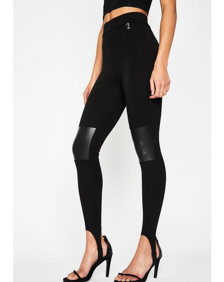 Cocky Fresh Moto Leggings