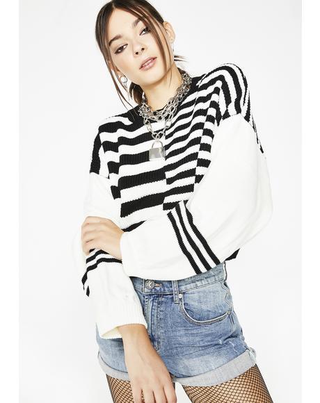 Like You Striped Sweater