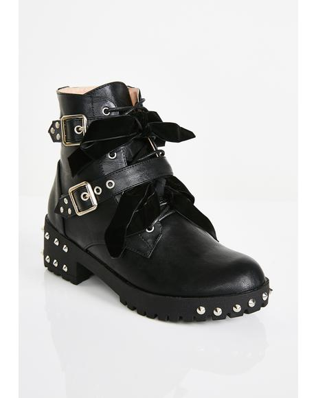 Babydoll Gloom Ankle Boots