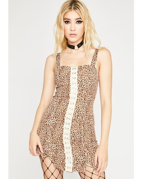 Savage Feisty Crush Mini Dress