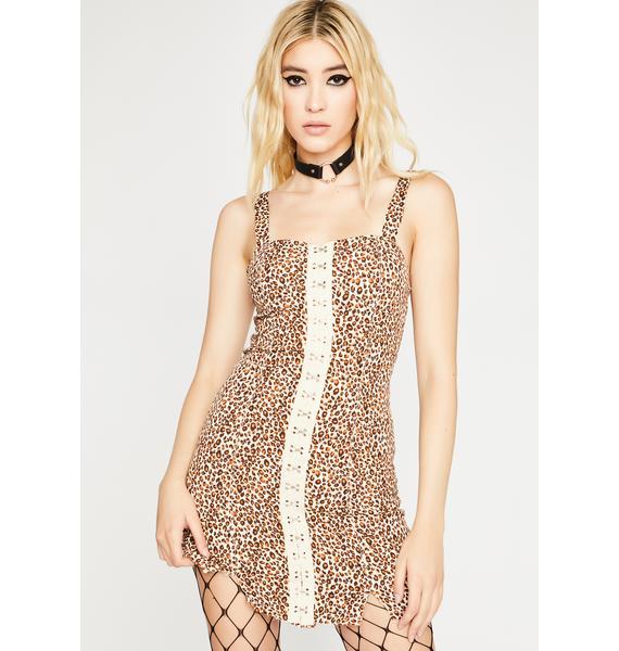 Savage Feisty Crush Mini Dress