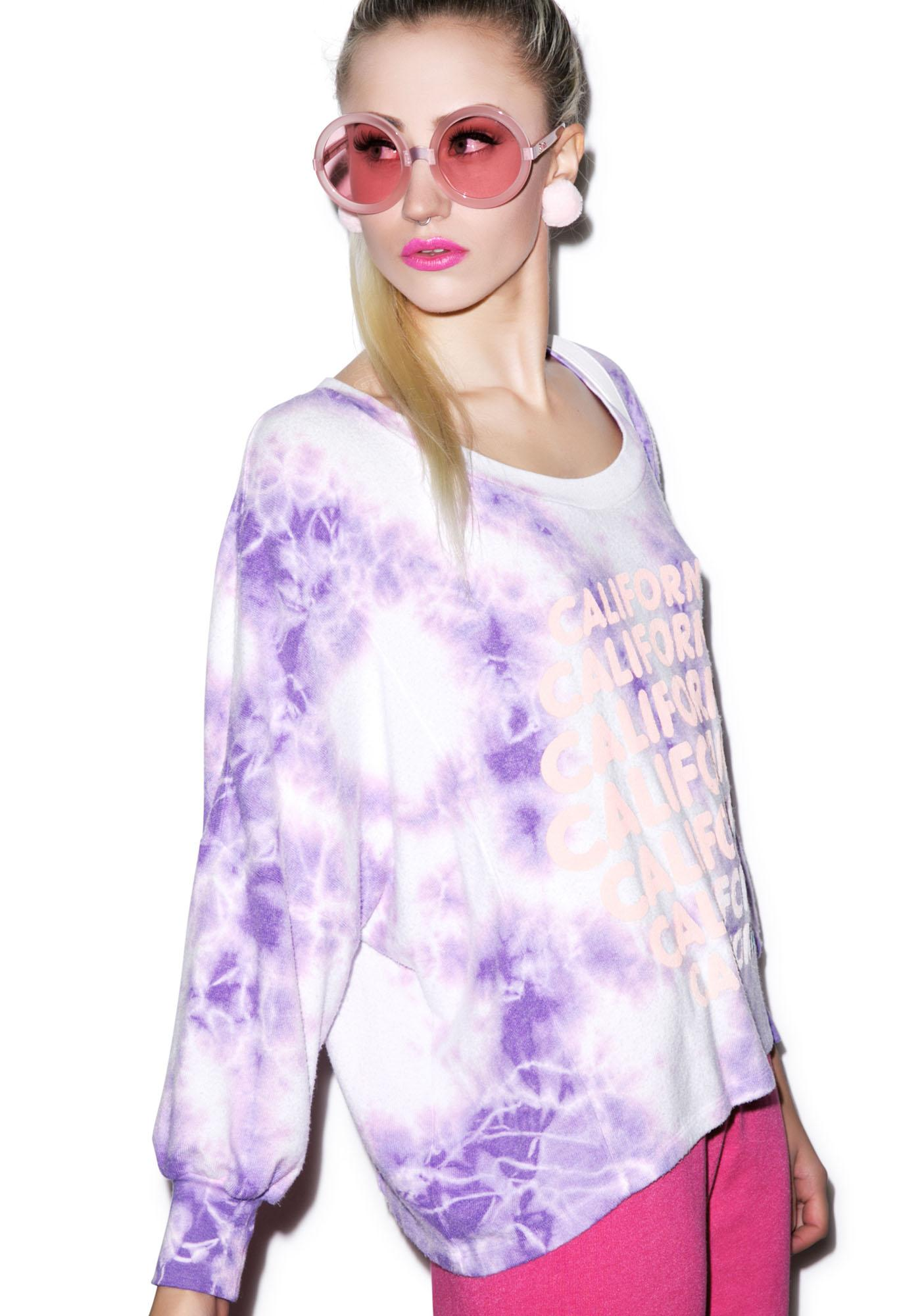 Wildfox Couture California Dreamin' Nevada Jumper