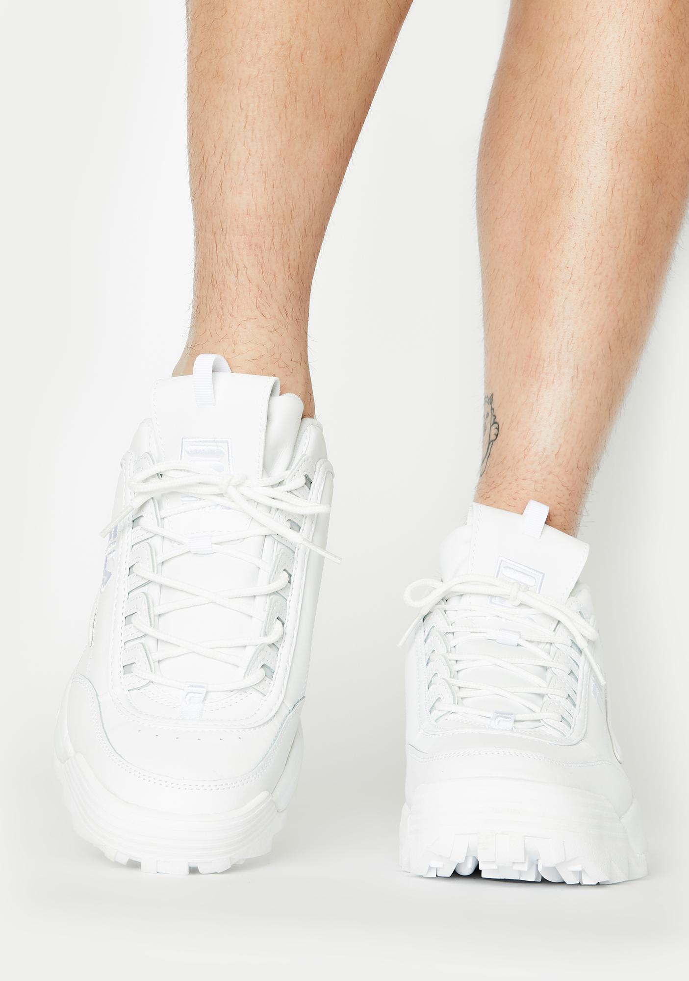Fila Unisex Tonal Disruptor 2 Premium Sneakers