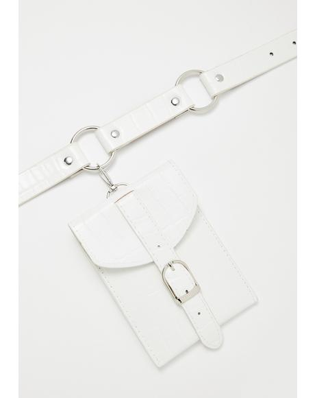 Blazin' Saddles Belt Bag