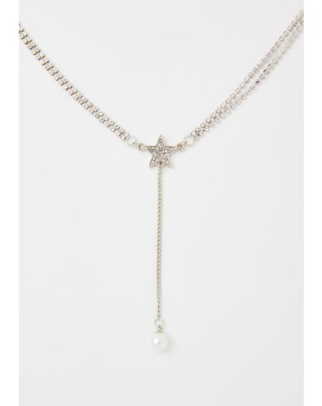 Diamond Galaxy Rhinestone Necklace