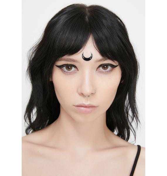 Magic Markings Beaded Luna Face Stickers