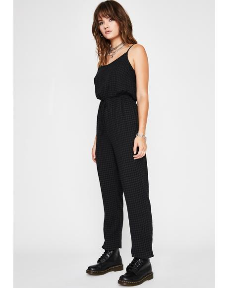 Wanna Hang? Drawstring Jumpsuit
