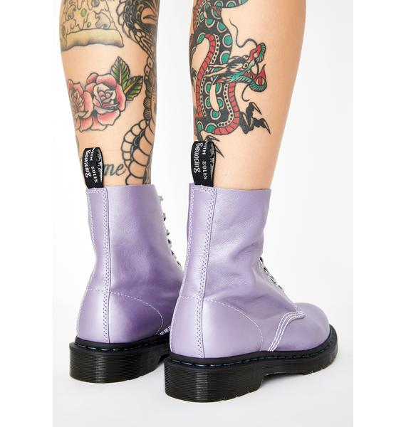 Dr. Martens 1460 Pascal Metallic Virginia Boots
