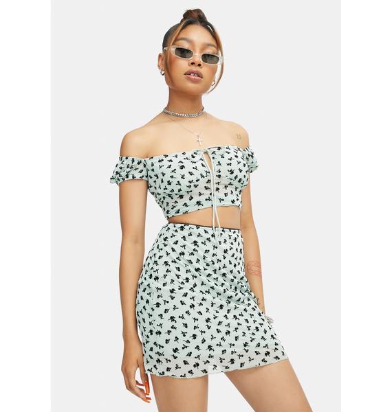 Motel Kinnie Mini Skirt