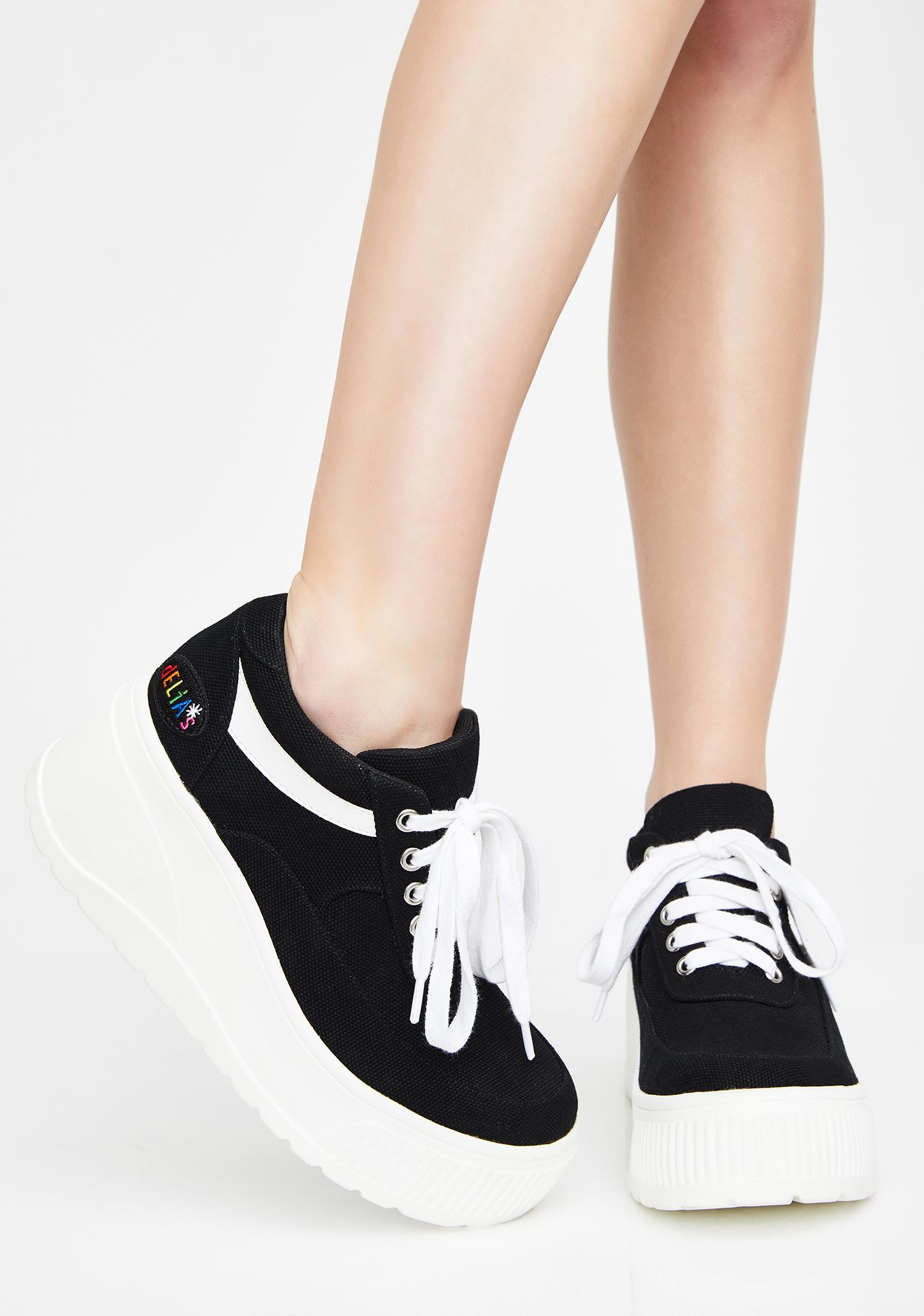 dELiA*s by Dolls Kill All That Platform Sneakers