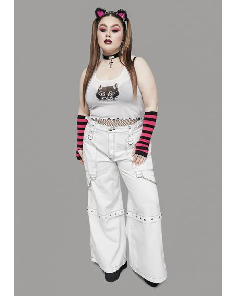 Pure Her Power Of Evil Convertible Wide Leg Pants